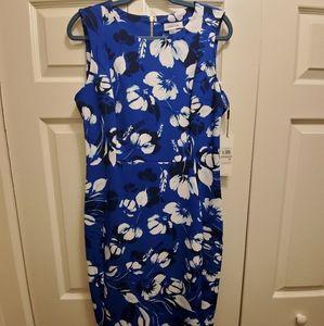 Calvin klein size 12 floral Cocktail dress